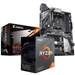 Bundle Deal: AMD Ryzen 5 3600 CPU + Gigabyte B450 AORUS Elite ATX Motherboard