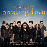 The Twilight Saga: Breaking Dawn - Part 1 - Calendar 16 Month (Part 2)