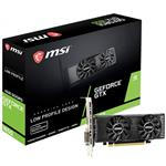 MSI GeForce GTX 1650 4GT Low Profile 4GB Video Card