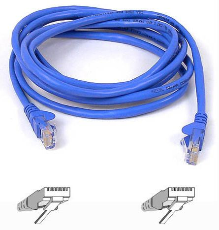 belkin rj45 cat5e patch cable 15m blue a3l791b15m blus. Black Bedroom Furniture Sets. Home Design Ideas