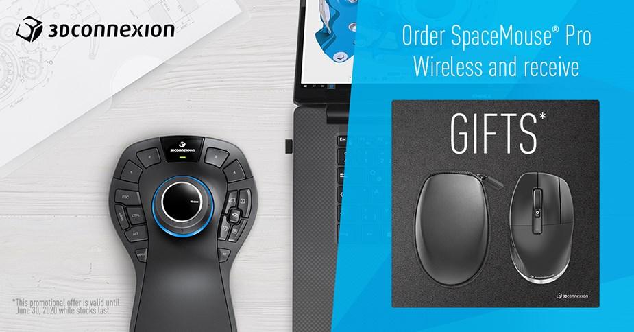 3Dconnexion Pro Wireless Bundle - Banner