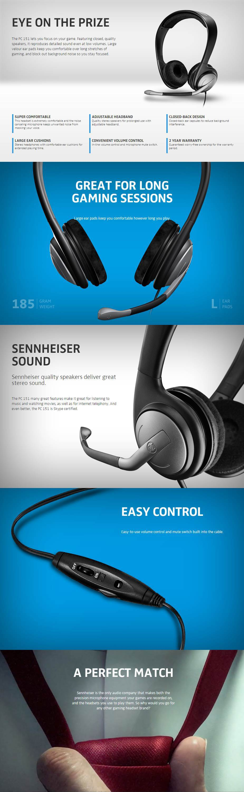 Sennheiser PC 151 Gaming Headset