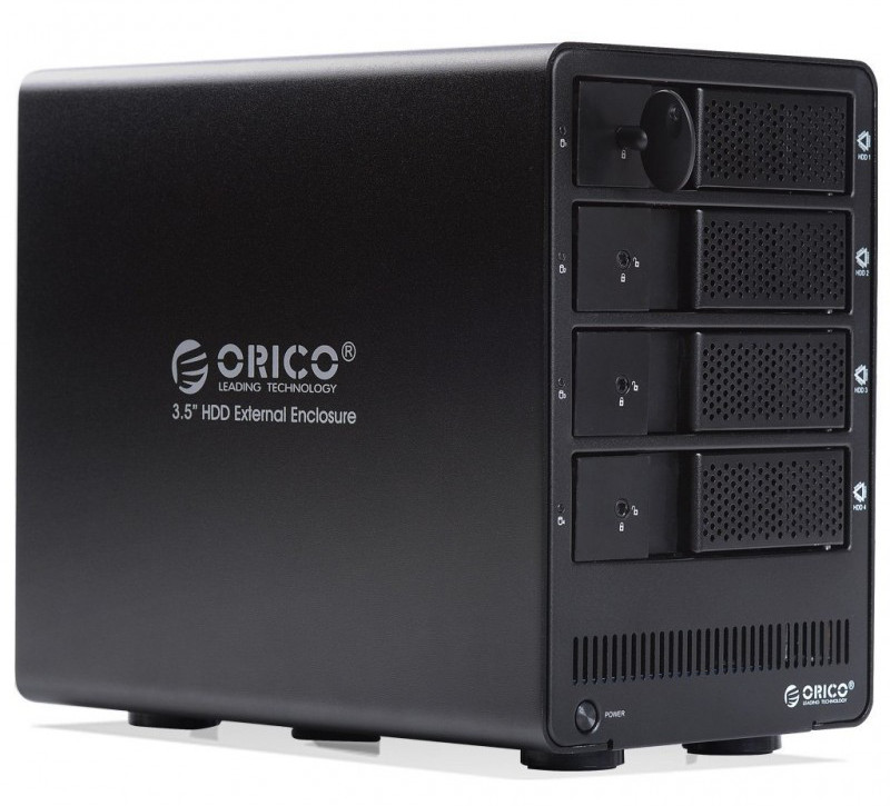 Orico 4-Bay USB3.0 External 3.5'' SATA HDD RAID Enclosure ...