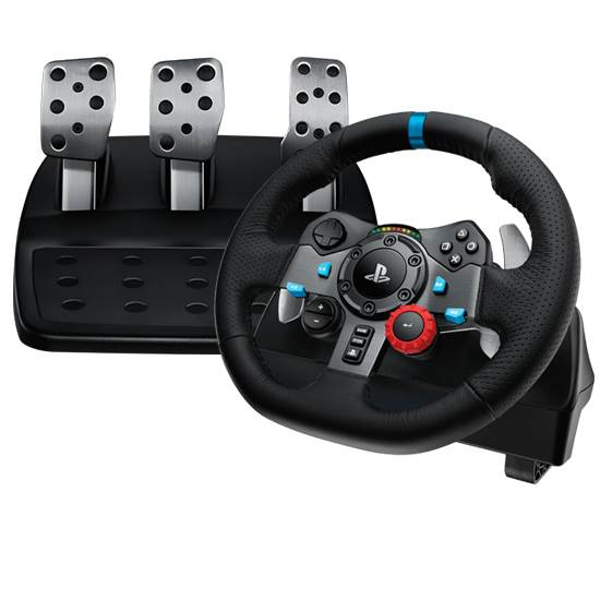 f342fc1bc5e Logitech G29 Driving Force Racing Wheel for PS3/PS4/PC - 941-000115 ...