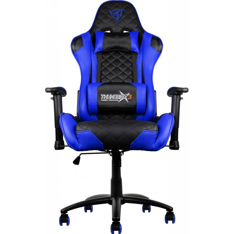 Thunderx3 Tgc12 Gaming Chair Blue Mwave Com Au