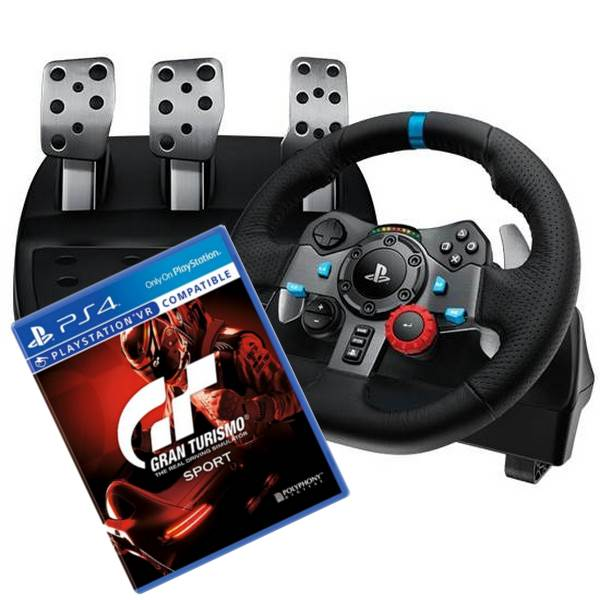bundle deal logitech g29 driving force racing wheel gran turismo sport ps4 ab64324. Black Bedroom Furniture Sets. Home Design Ideas