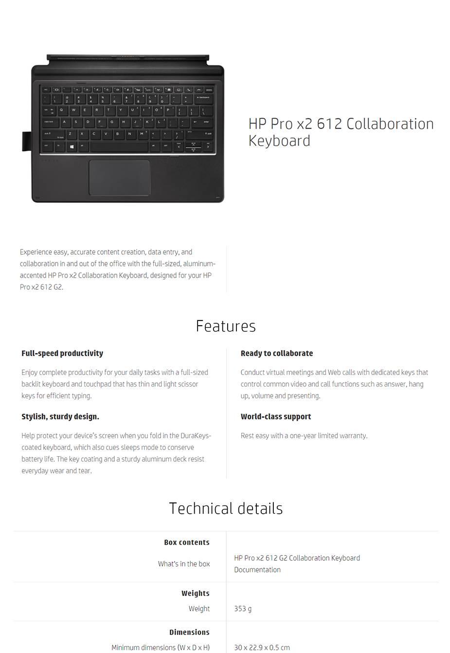 32499c861f4 Manufacturer Warranty: 12 Months Limited Warranty; Manufacturer Contact  Info: http://www.hp.com, 13 10 47