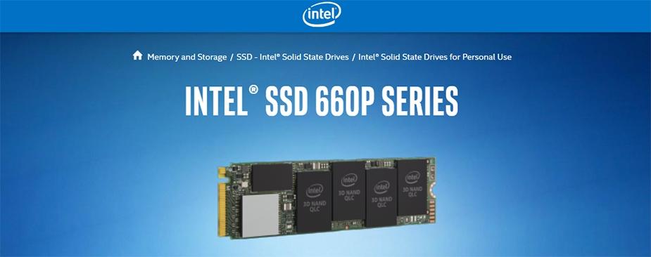 Intel 660p 2TB M.2 PCIe NVMe 3.0 x4 3D2 SSD SSDPEKNW020T8X1 - Desktop Overview 1
