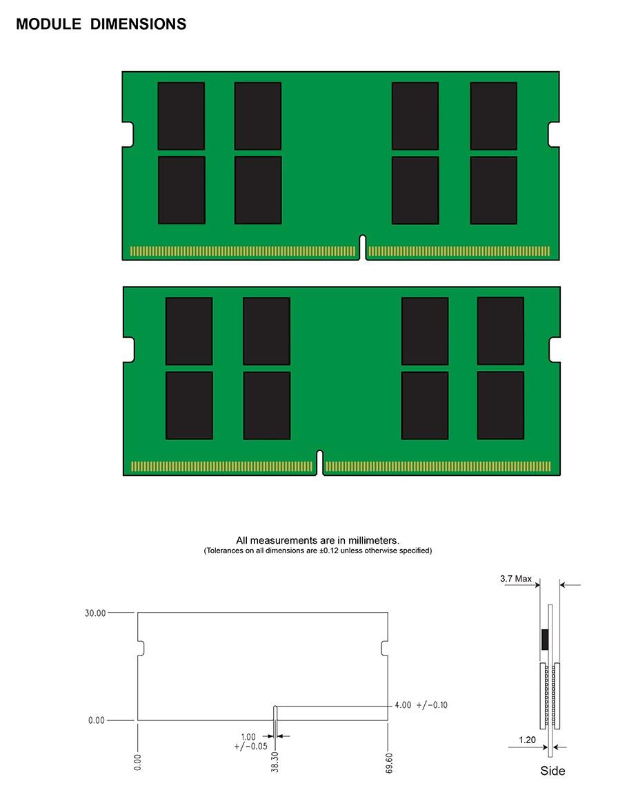 Kingston ValueRAM 16GB (1x 16GB) DDR4 2666 MHz SODIMM Memory - Desktop Overview 2