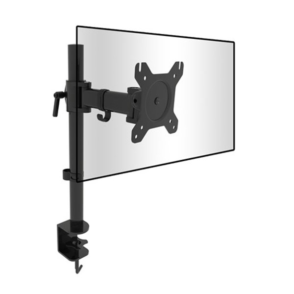 "PC Monitor Desk Bracket from 13""-27"" - CW2874 - Desktop Overview 1"