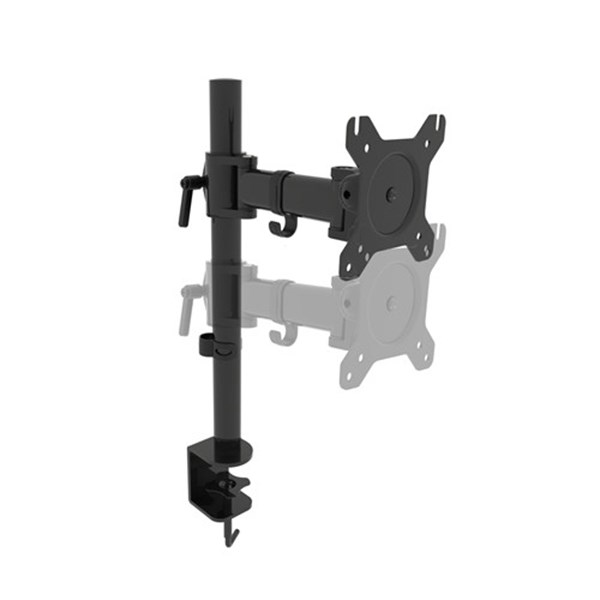 "PC Monitor Desk Bracket from 13""-27"" - CW2874 - Desktop Overview 4"