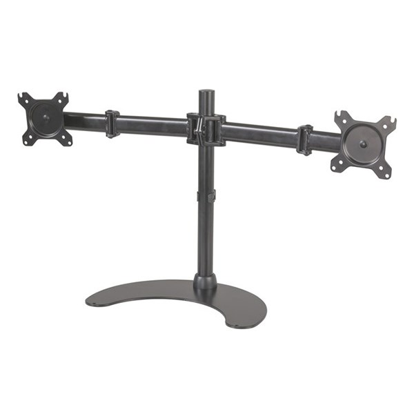 """PC Dual Monitor Desk Stand from 13""""-27"""" - CW2880 - Desktop Overview 1"""