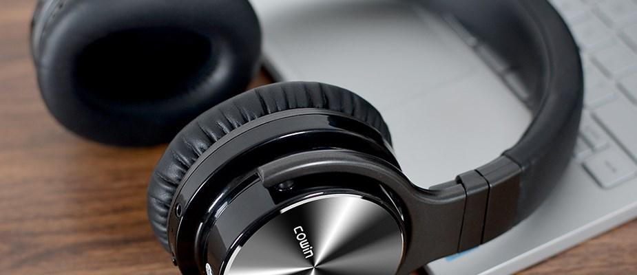 Cowin E7 Pro Noise Cancelling Bluetooth Headphones - Desktop Overview 1