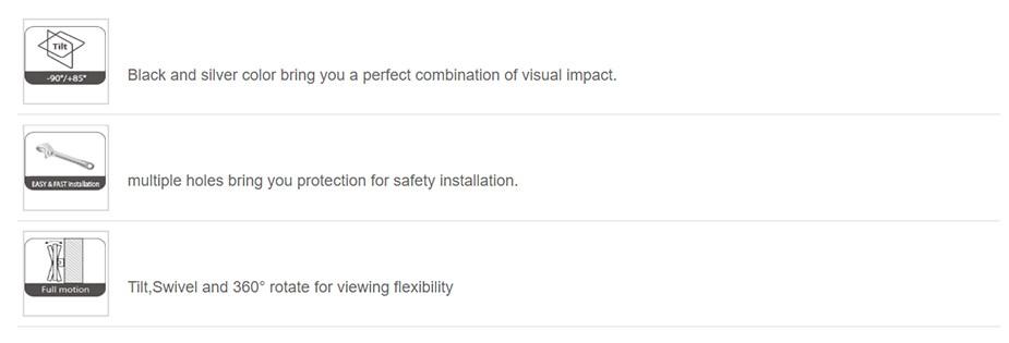Vision Mounts VM-PR15 Ceiling Projector Mount - Desktop Overview 2