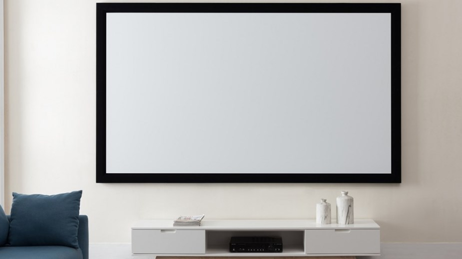 "Westinghouse 130"" Fixed Frame Projection Screen - Desktop Overview 1"