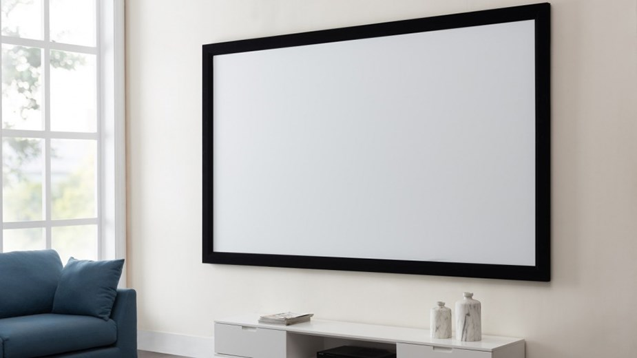 "Westinghouse 130"" Fixed Frame Projection Screen - Desktop Overview 2"
