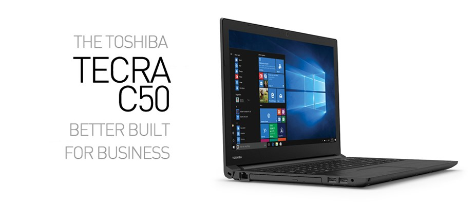 "Toshiba Tecra C50 PS595A-1FN00S 15.6"" Notebook i7 8GB 256GB Win10 Pro - Desktop Overview 1"