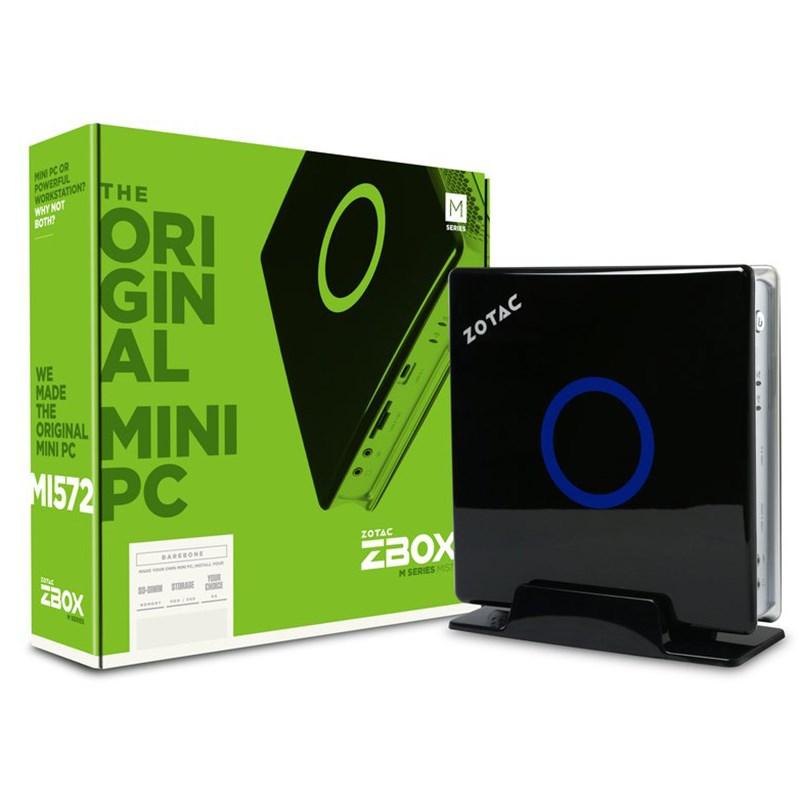 Zotac ZBOX-MI572 Barebore Mini-PC - Intel 7th Gen Processor - Desktop Overview 1