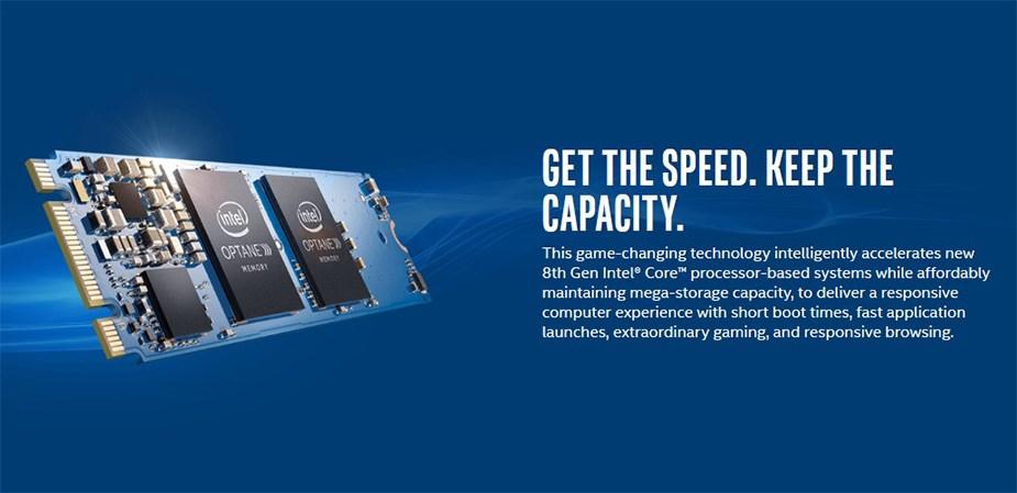 Intel Optane Memory 16GB M10 NVMe M.2 2280 PCIe SSD - Desktop Overview 1