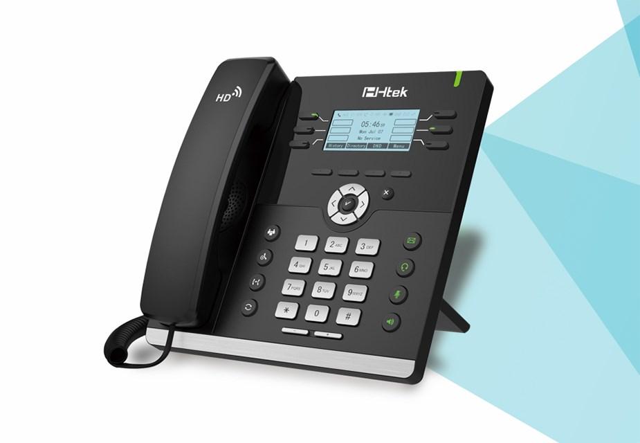 Htek UC903 Classic IP Phone - Desktop Overview 1