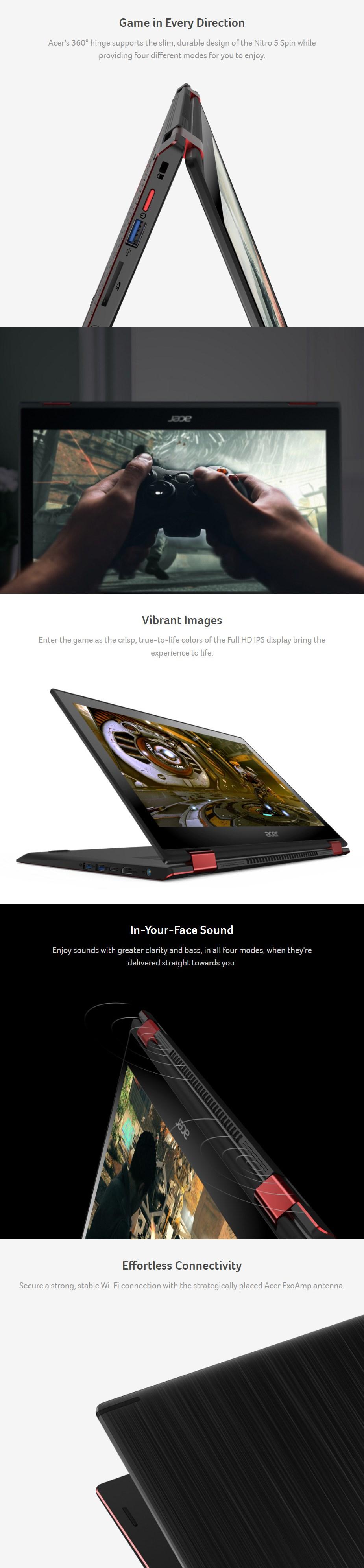 Acer Nitro 5 Spin 15 6