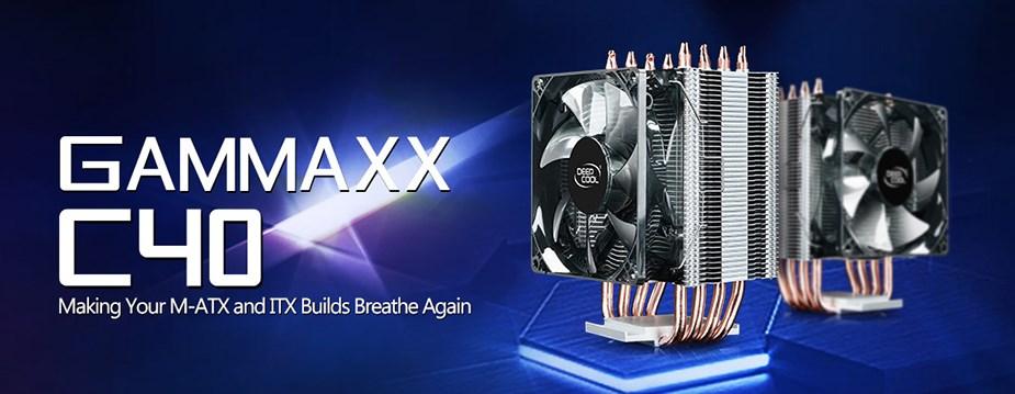 Deepcool Gammaxx C40 Multi-Socket CPU Cooler - Desktop Overview 1