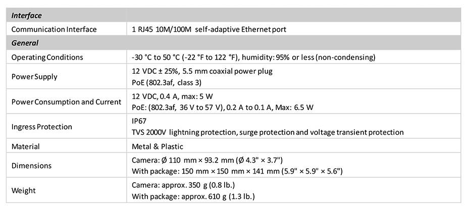 HiLook IPC-T240H 4MP Network IR Turret Camera - Desktop Overview 3