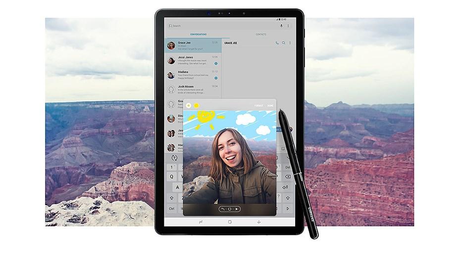 Samsung Galaxy Tab S4 S Pen - Black - Desktop Overview 2
