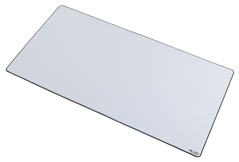 Glorious XL Slim Gaming Mouse Mat - White - Desktop Overview 3