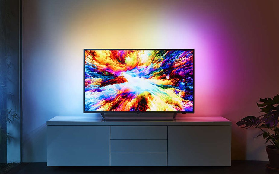 "Philips 7300 Series 55"" 4K UHD Ambilight Android Smart TV - Desktop Overview 1"