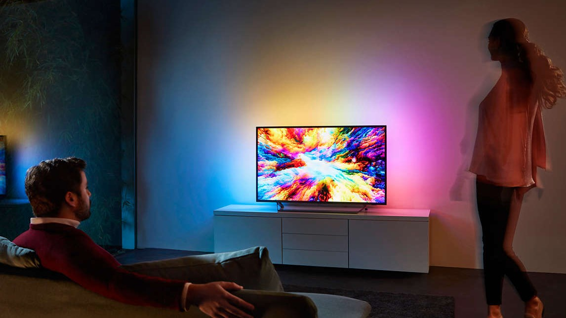"Philips 7300 Series 55"" 4K UHD Ambilight Android Smart TV - Desktop Overview 3"