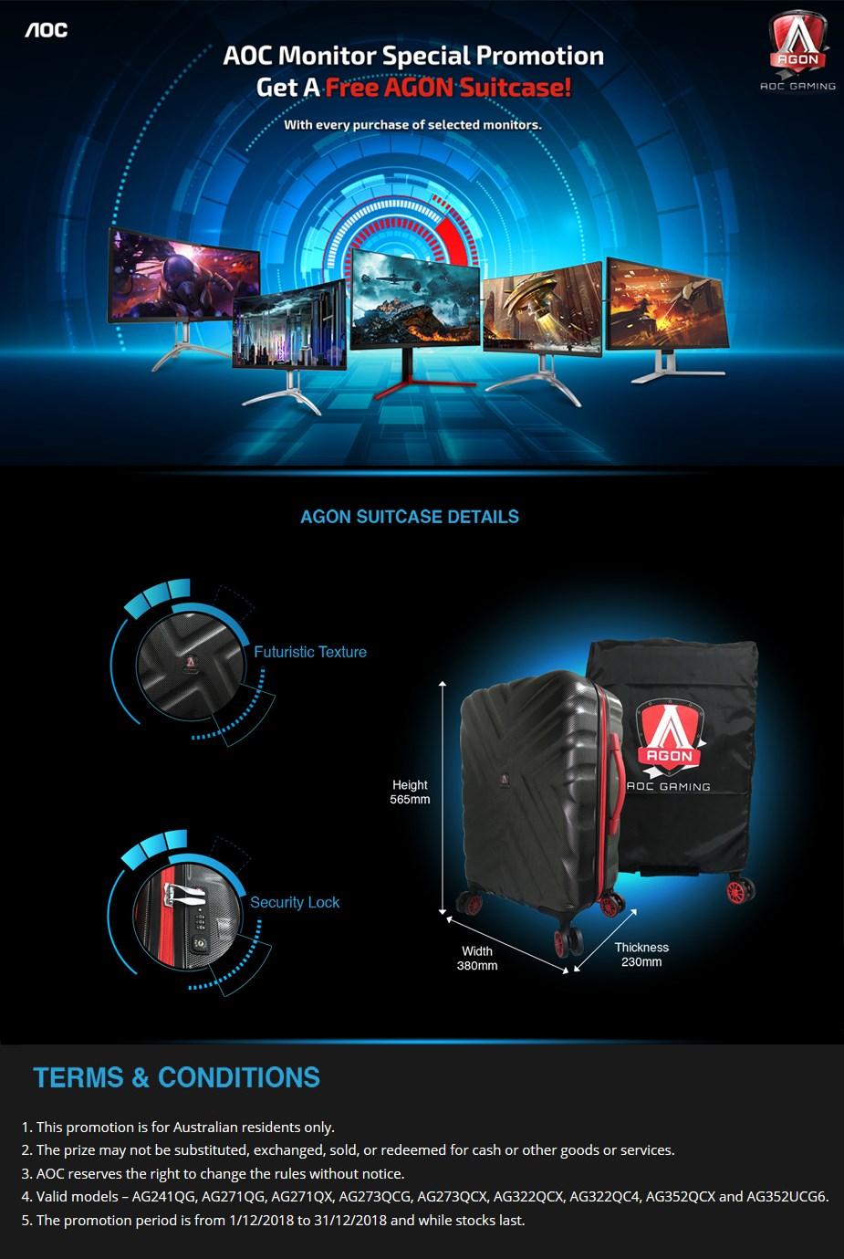 AOC AGON Suitcase - Desktop Overview 1