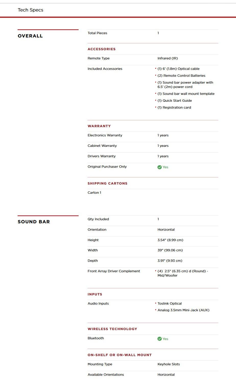 Polk Signa Solo Home Theater Bluetooth Sound Bar - Desktop Overview 2