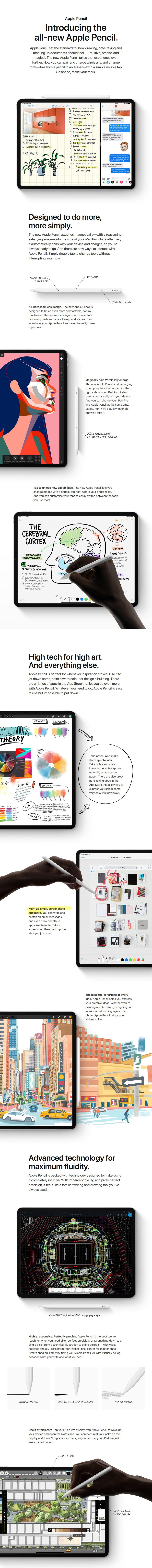 Apple Pencil (2nd Generation) - Desktop Overview 1