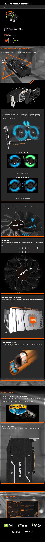 Gigabyte GeForce RTX 2060 Windforce OC 6GB Video Card