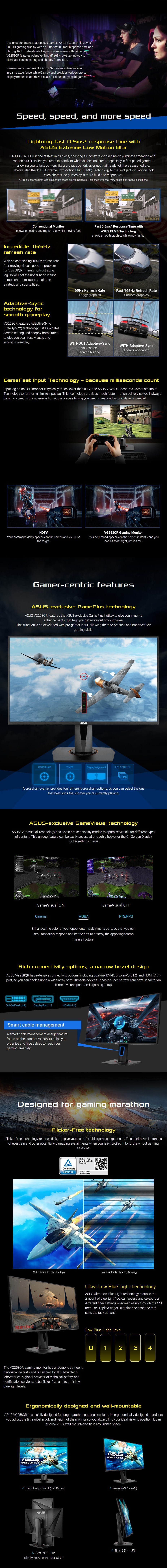 Image result for ASUS VG258Q features the ASUS-exclusive GamePlus hotkey to give you in-game enhancements that help you get more out of your game.