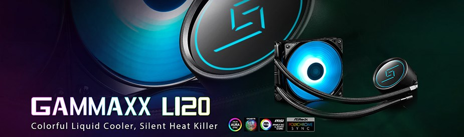 Deepcool GAMMAXX L120 RGB Liquid CPU Cooler - Desktop Overview 1