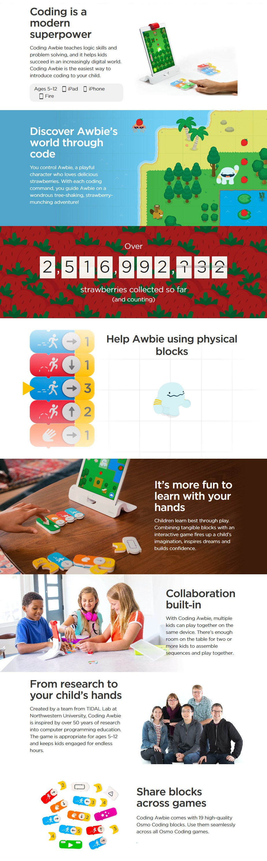 Osmo Coding Awbie Game for iPhone & iPad - Desktop Overview 1