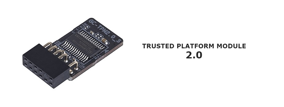 Gigabyte Trusted Platform Module 2.0 - GC-TPM2.0_S - Desktop Overview 1
