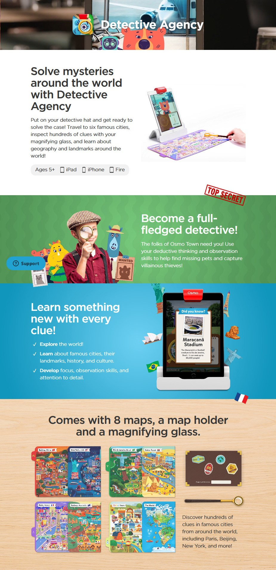 Osmo Detective Agency for iPad - Desktop Overview 1
