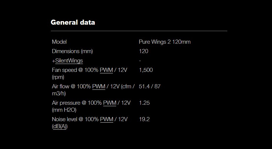 be quiet! Pure Wings 2 120mm Case Fan - Desktop Overview 3