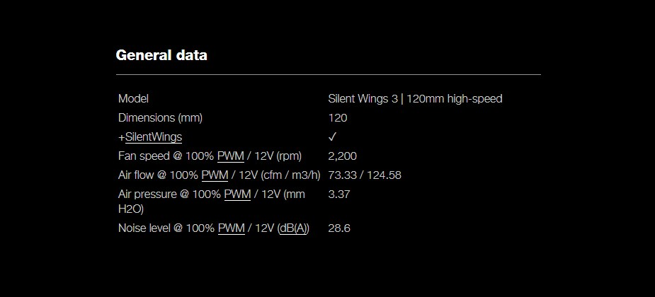 be quiet! Silent Wings 3 120mm Case Fan - High-Speed Edition - Desktop Overview 3