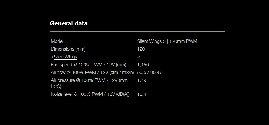 be quiet! Silent Wings 3 120mm PWM Case Fan - Desktop Overview 3