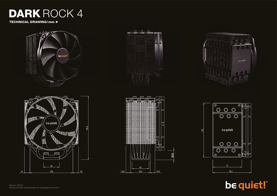 be quiet! Dark Rock 4 CPU Air Cooler - Desktop Overview 2