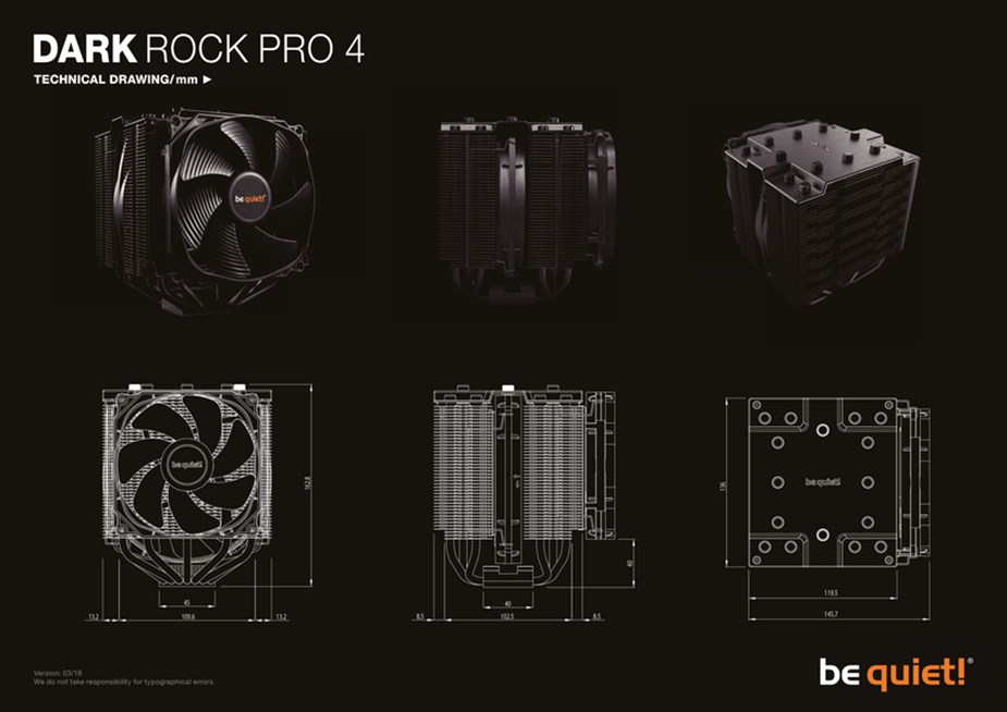 be quiet! Dark Rock Pro 4 CPU Air Cooler - Desktop Overview 2