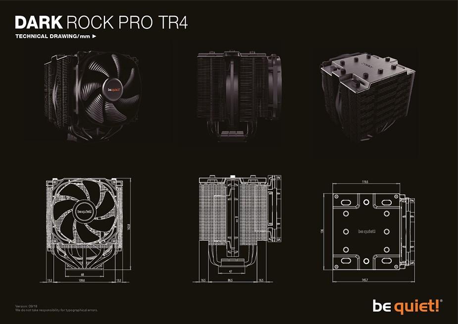 be quiet! Dark Rock Pro TR4 CPU Air Cooler - Desktop Overview 2
