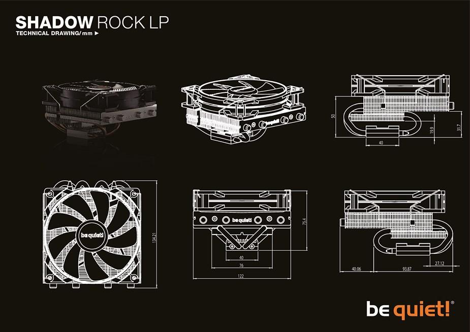 be quiet! Shadow Rock LP CPU Air Cooler - Desktop Overview 2