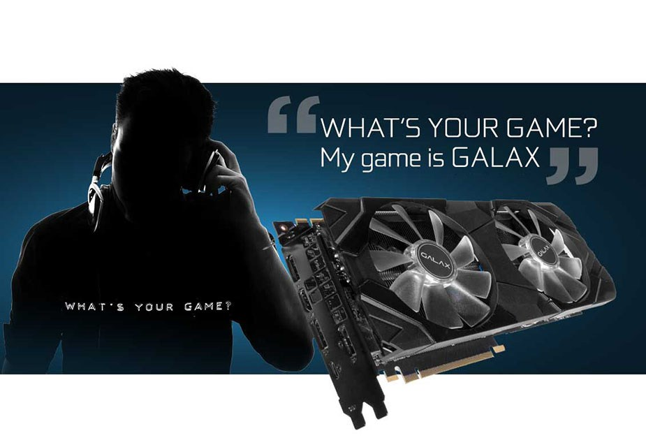 GALAX GeForce RTX 2080 EX 8GB Video Card - Desktop Overview 1