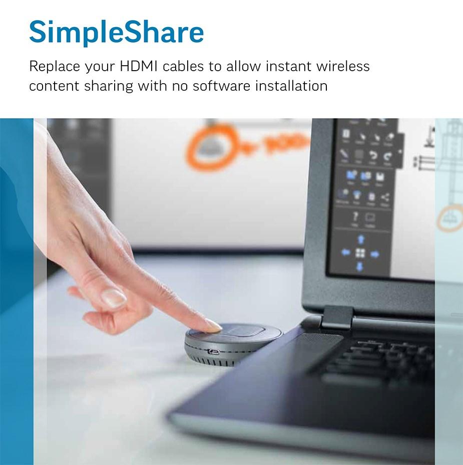 InFocus SimpleShare Wireless Presentation Solution - Desktop Overview 1