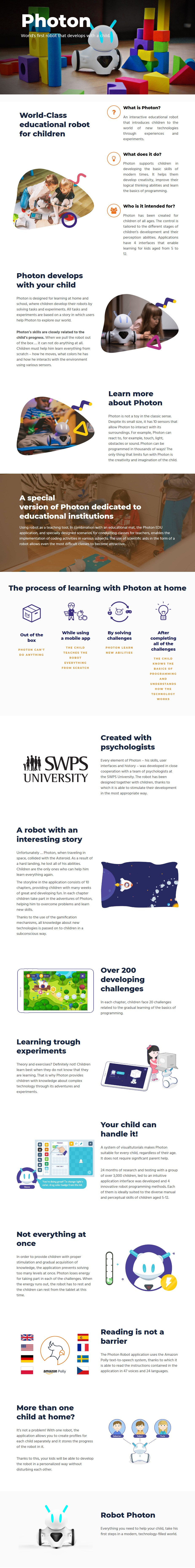 Photon Robot - Desktop Overview 1